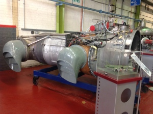 Engine to power a Harrier Jump Jet
