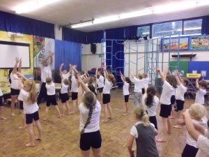 Y3 teaching Reception