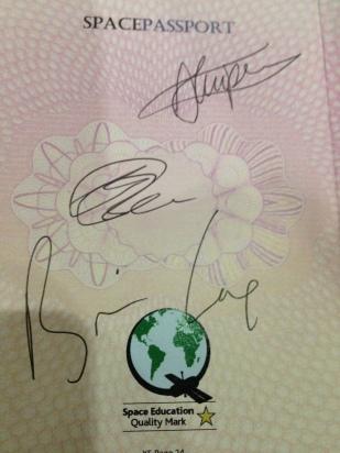 Brian's signature